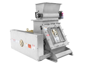 Rigimill Sanitary Hammer Mill with Feeder, similar to Fitzmill