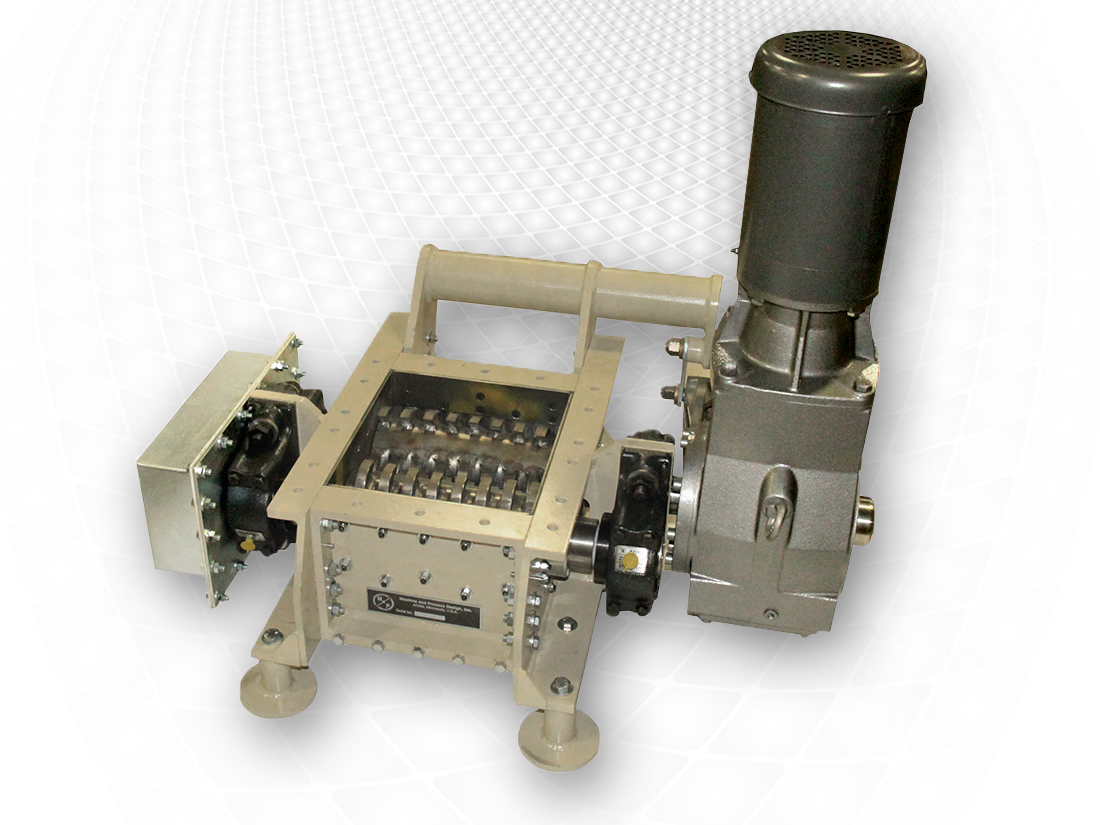 single, dual rotor crusher, similar to Carter Day